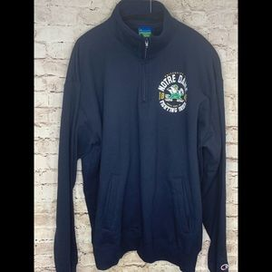 Champion Notre Dame XXL Pullover Navy NWT